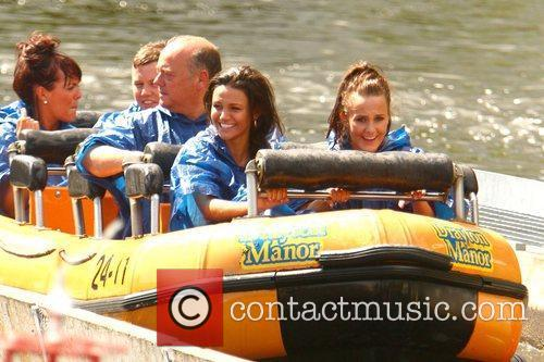 Michelle Keegan and Theme Park 77