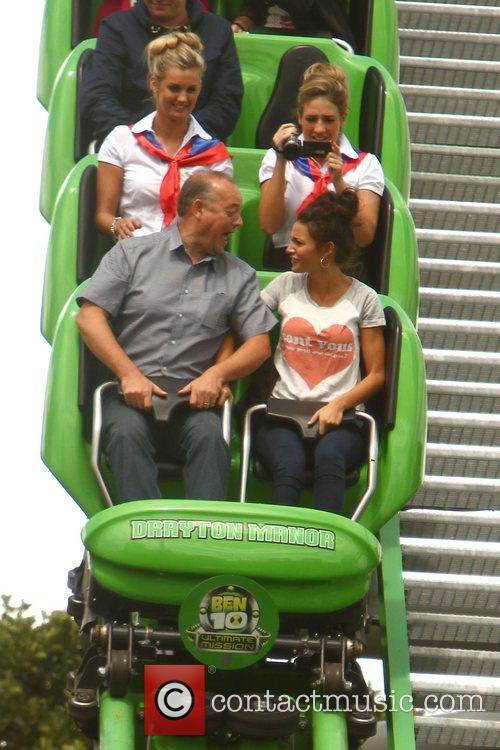Michelle Keegan and Theme Park 87
