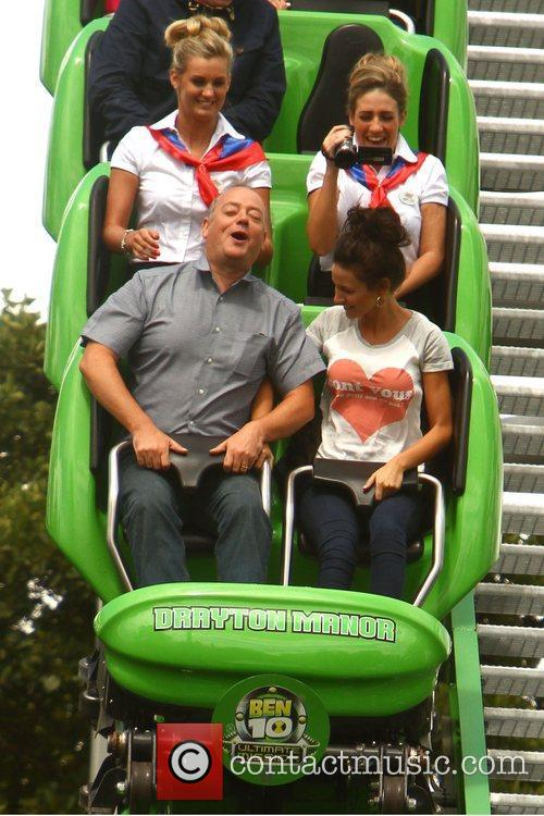 Michelle Keegan and Theme Park 92