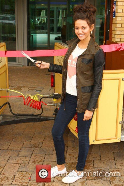 Michelle Keegan and Theme Park 97