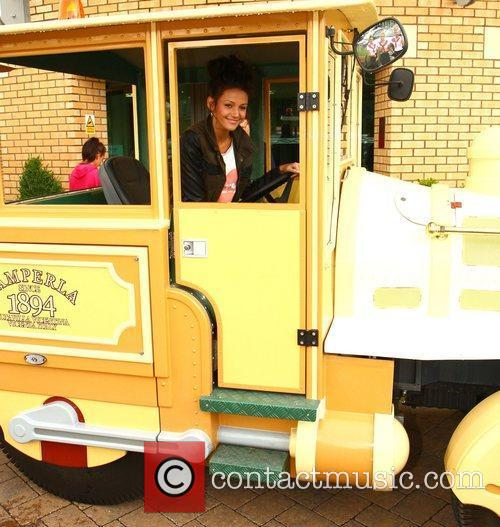 Michelle Keegan and Theme Park 110
