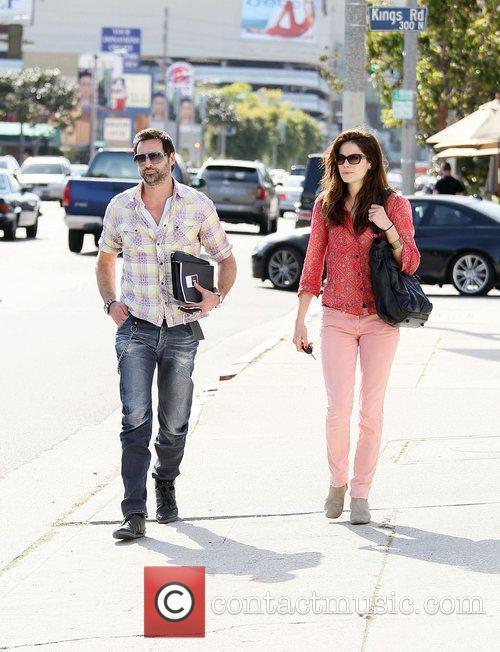 Michelle Monaghan and Peter White 4
