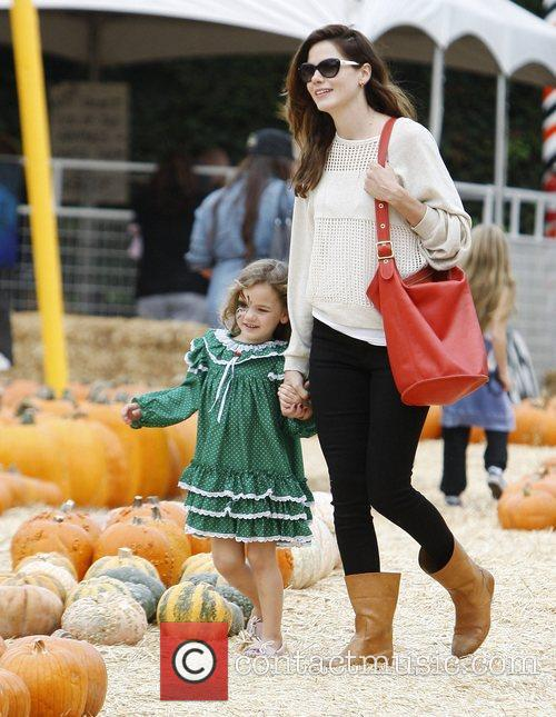 Michelle Monaghan and Willow 4