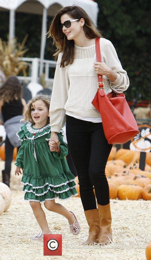 Michelle Monaghan and Willow 7