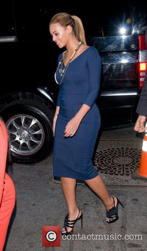 Beyonce Knowles and Georgina Chapman 3