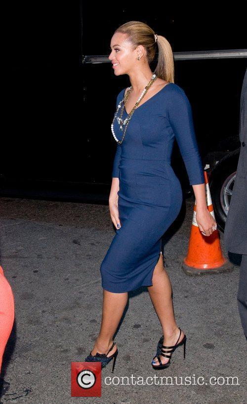 Beyonce Knowles and Georgina Chapman 1