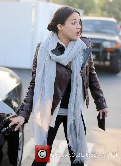 Michelle Rodriguez, Fred Segal and West Hollywood 2