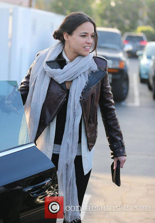 Michelle Rodriguez, Fred Segal and West Hollywood 7