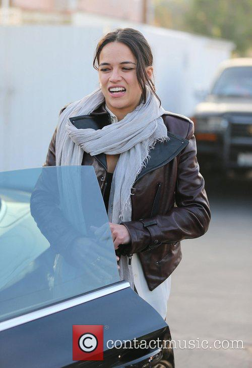 Michelle Rodriguez, Fred Segal and West Hollywood 9