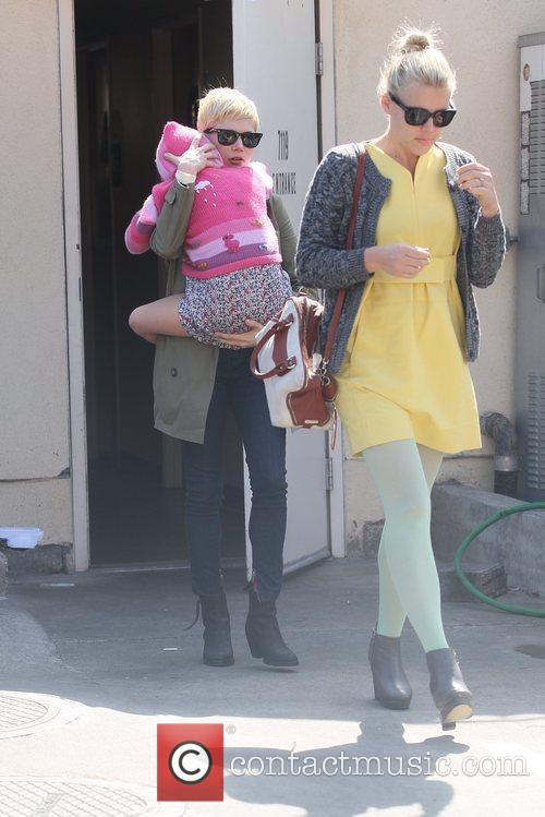 Michelle Williams and Busy Philipps 5