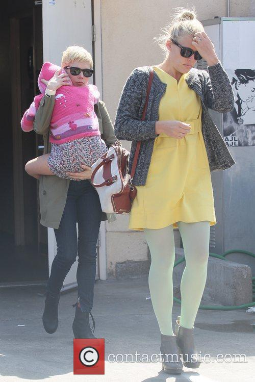 Michelle Williams and Busy Philipps 6