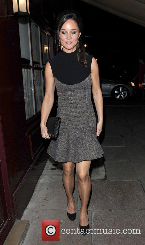 Pippa Middleton Leaving Lou lou's members club in...