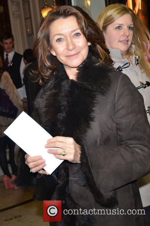 Cherie Lunghi at the 'Midnight Tango' press night...