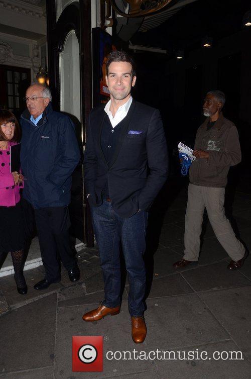 Gethin Jones Midnight Tango - Celebrity Gala held...