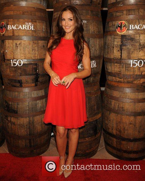 Minka Kelly  attends the Bacardi 150th Anniversary...