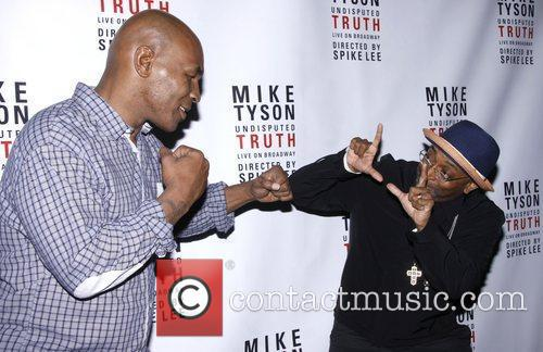 mike tyson and spike lee broadway opening 4019357