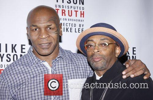 mike tyson and spike lee broadway opening 4019360