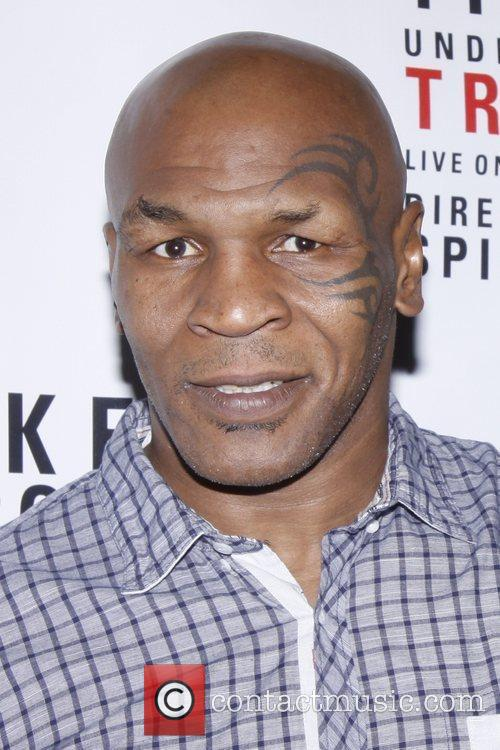 Mike Tyson Broadway opening night post show celebration...
