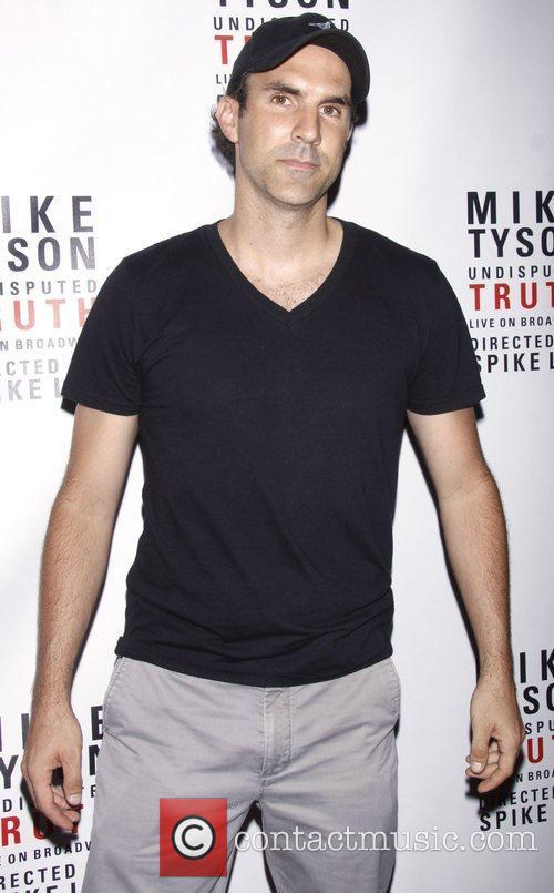 Paul Schneider Broadway opening night of 'Mike Tyson:...