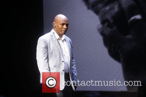Mike Tyson Broadway opening night curtain call for...