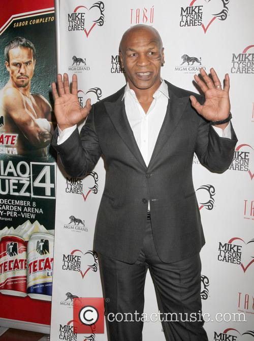 Former World Heavyweight Champ, Mike Tyson Launches His, Mike Tyson Cares Foundation and Tabu Ultra Lounge 9