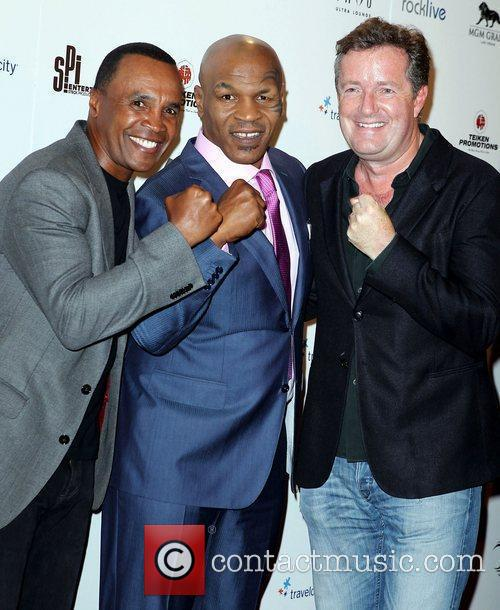 Sugar Ray Leonard, Mike Tyson and Piers Morgan 3