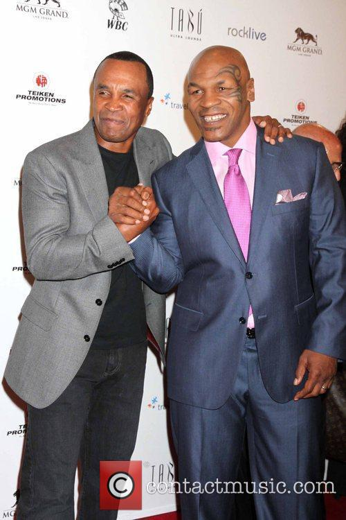 Sugar Ray Leonard and Mike Tyson 10