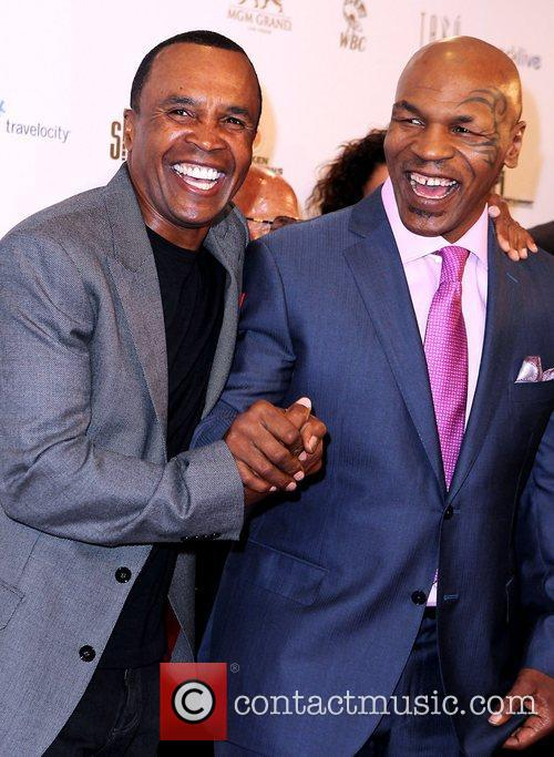 Sugar Ray Leonard and Mike Tyson 7