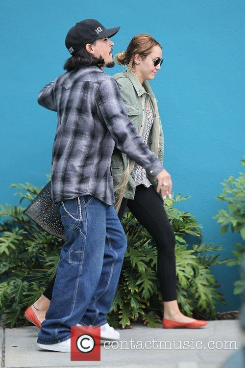 Miley Cyrus  exits her Windsor Pilates class...