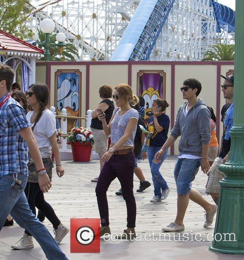 Miley Cyrus and Disneyland 9