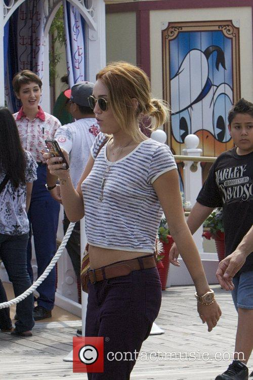 Miley Cyrus and Disneyland 12