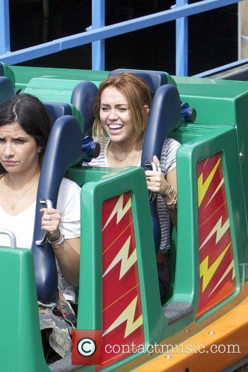 Miley Cyrus and Disneyland 16