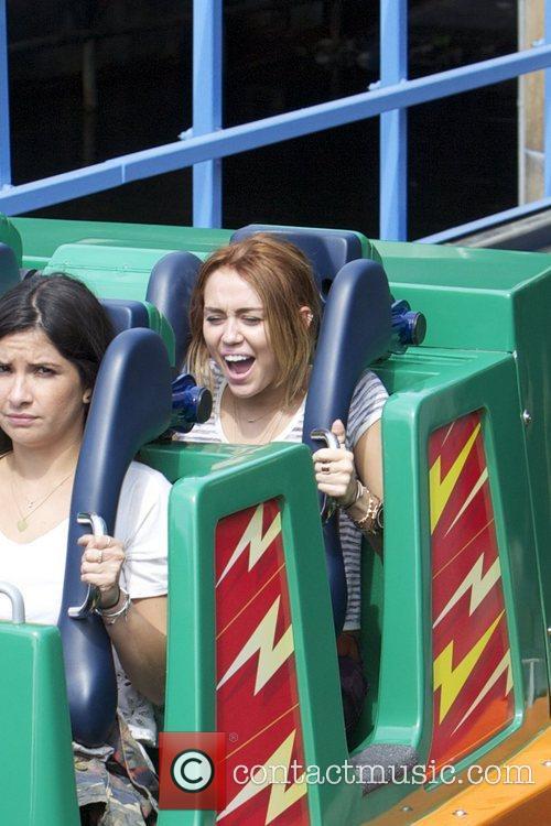 Miley Cyrus and Disneyland 20