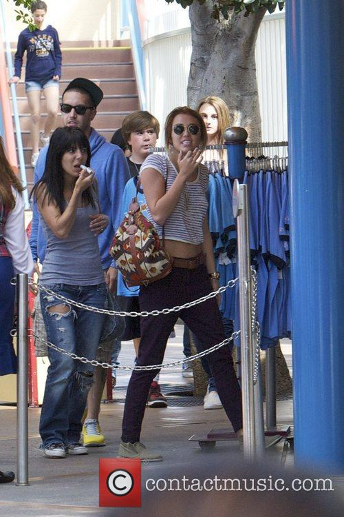 Miley Cyrus and Disneyland 24