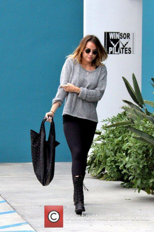 Miley Cyrus out and about in Los Angeles...