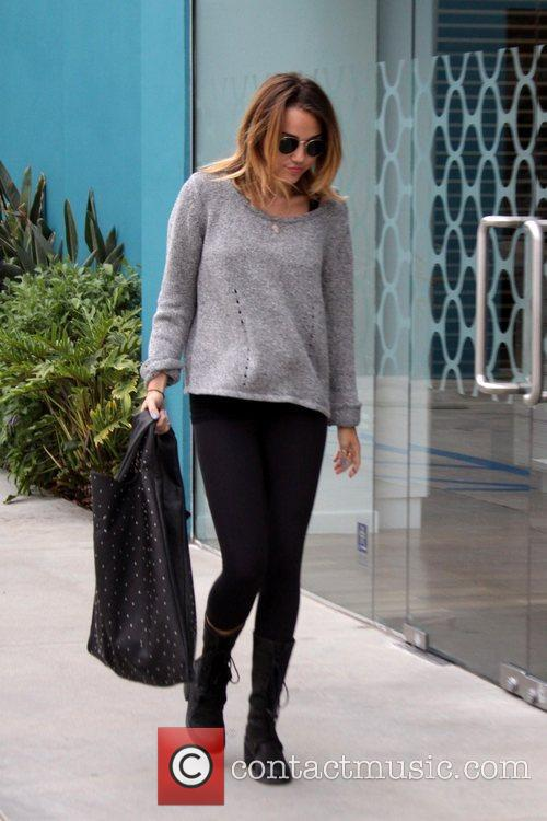 Miley Cyrus out and about in Los Angeles