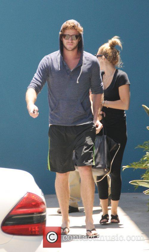 Miley Cyrus and Liam Hemsworth 17