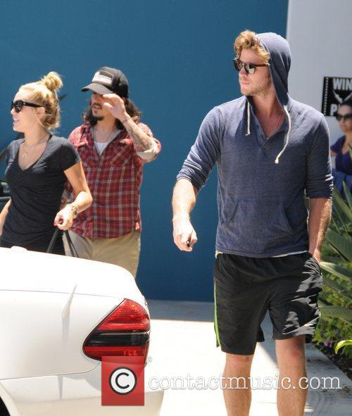 Miley Cyrus and Liam Hemsworth 22