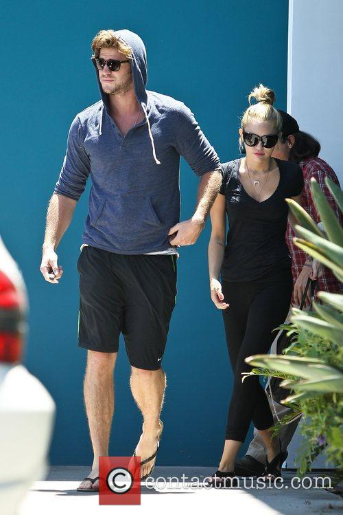 Miley Cyrus and Liam Hemsworth 25