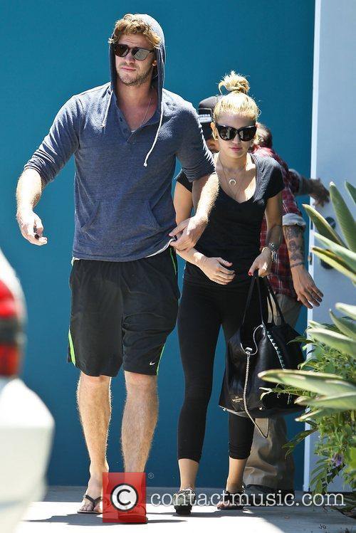 Miley Cyrus and Liam Hemsworth 26