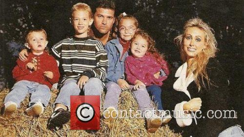 Miley Cyrus posted this old Family Photo on...
