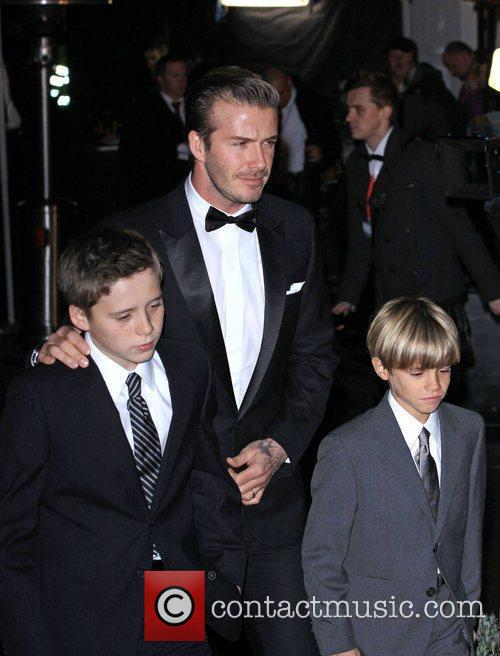 David Beckham and Brooklyn 3