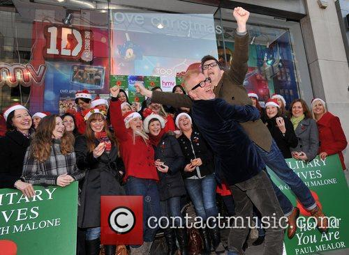 Chris Evans and Hmv Oxford Street 6