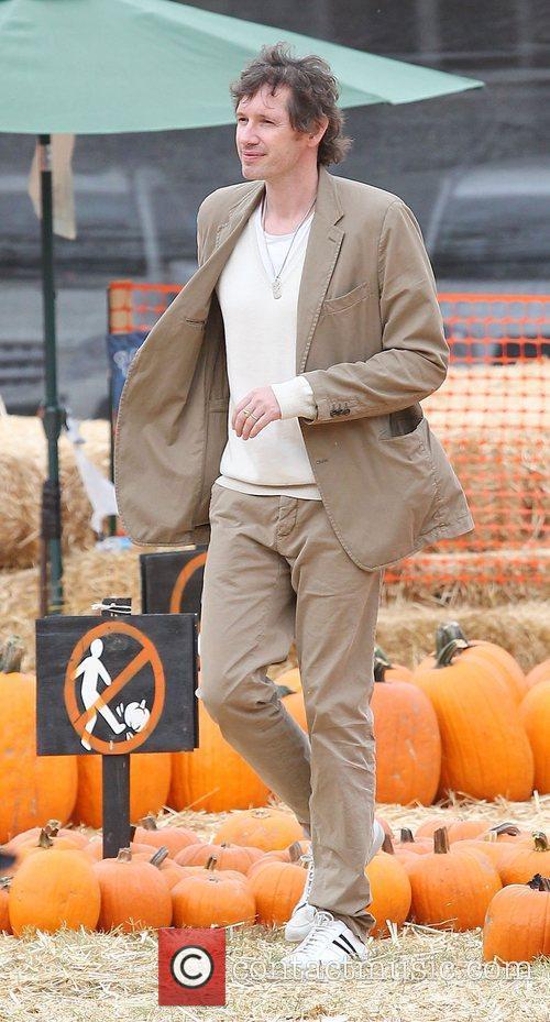 Paul W.S. Anderson at Mr. Bones Pumpkin Patch.