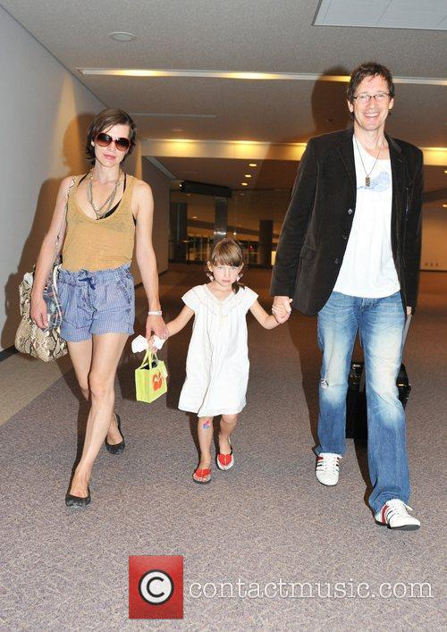 Milla Jovovich and Paul W S Anderson 2