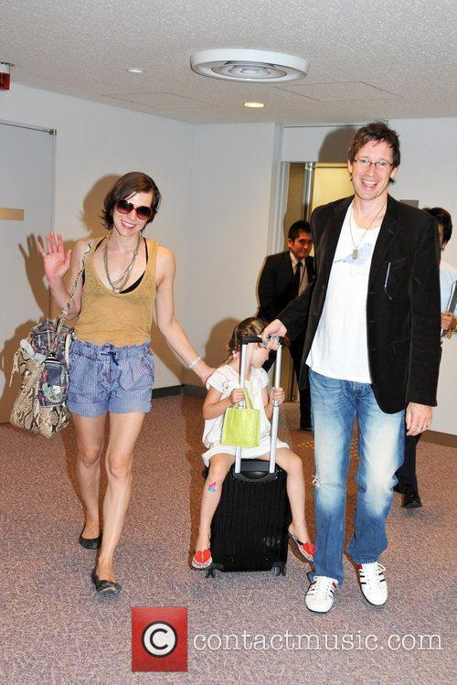 Milla Jovovich and Paul W S Anderson 3