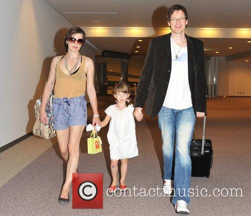 Milla Jovovich and Paul W S Anderson 4