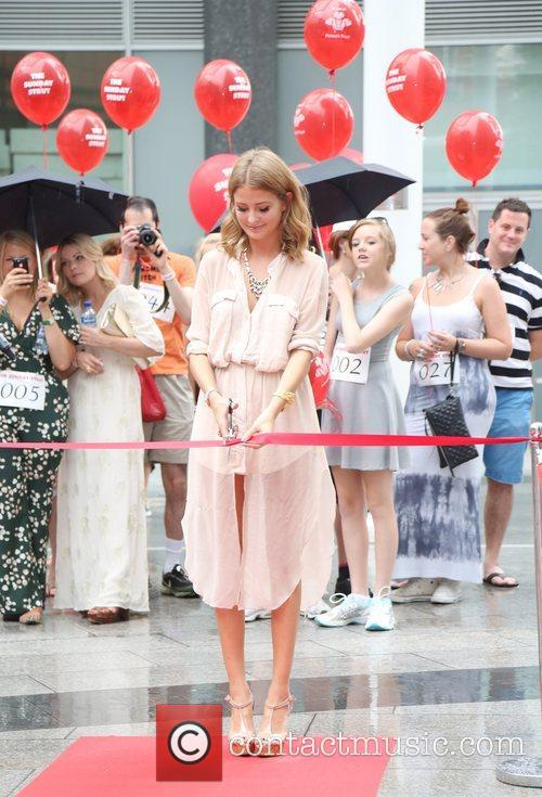 Millie Mackintosh launches the Sunday Strut, a host...