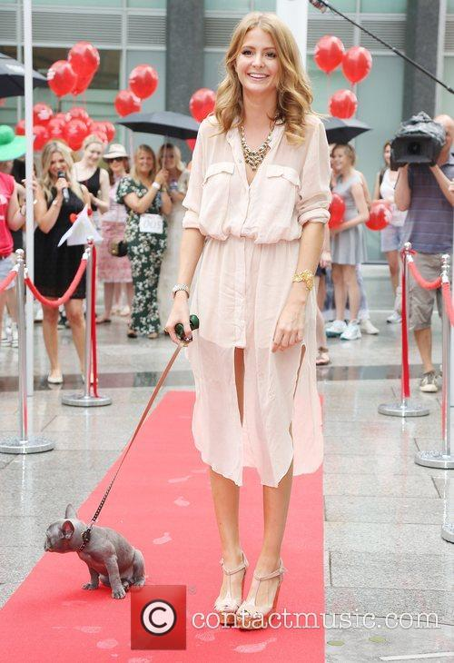 Millie Mackintosh with her dog Herbie Millie Mackintosh...