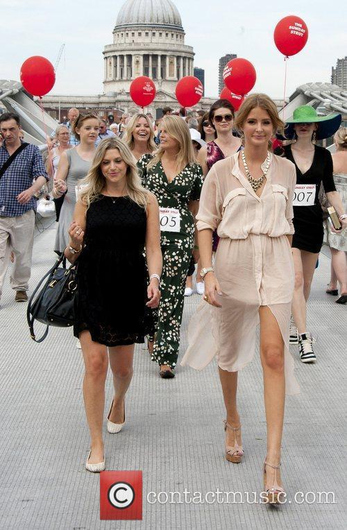 Anna Williamson and Millie Mackintosh Millie Mackintosh launches...